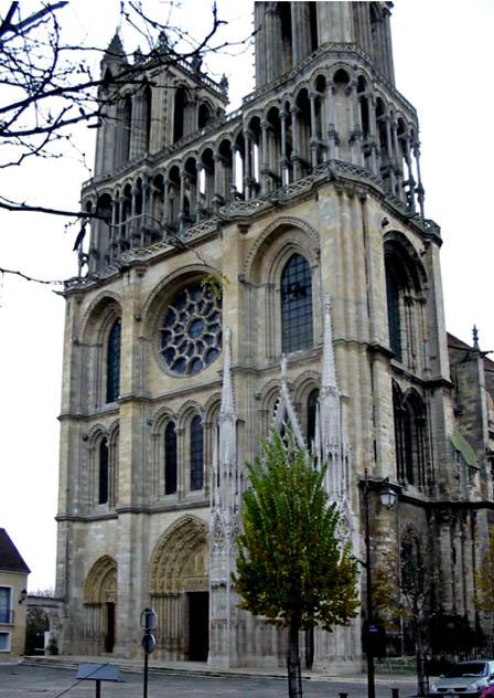 Mantes-collégiale Notre-Dame-vue extérieure