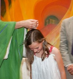 Mon baptême pour la Vie