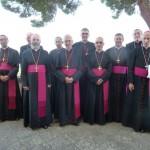 Les évêques de la province de Rennes à Castel Gandolfo