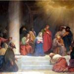 Le Mesnil-le-Roi : tableau de Picot : Pentecôte