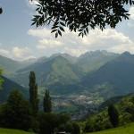 Paysage montagne nature