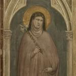 Sainte Claire par Giotto, 1325