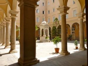 Séminaire français de Rome cour intérieure