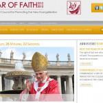 Site officiel pour l'année de la Foi