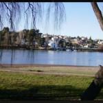 Paysage de la ville de Viedma Patagonie Argentine
