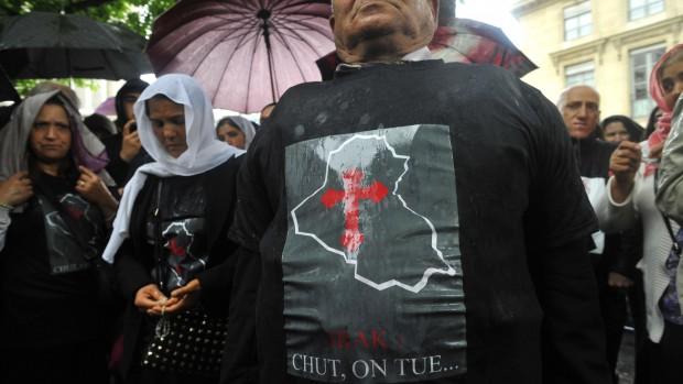 Mobilisation contre la disparition des chrétiens d'Irak