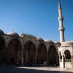 La mosquée bleue à Istanbul (Turquie).
