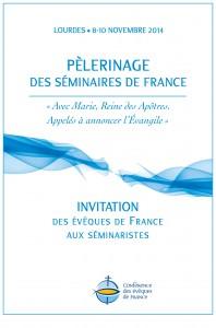 Invitation des Evêques de France aux séminaristes