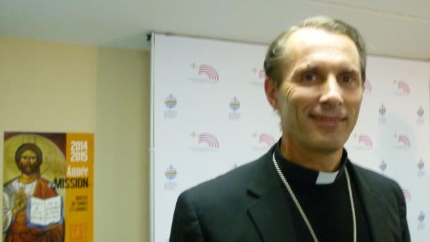 """Mgr Nicolas Brouwet, évêque de Tarbes et Lourdes, a présenté le projet """"Grotte, coeur de Lourdes"""""""