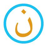 Noun, caractère arabe «ن» en signe de soutien à la communauté chrétienne d'Irak.