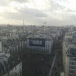 Paris le 11 janvier 2015, affiche sur un batiment suite aux atttentats terroristes