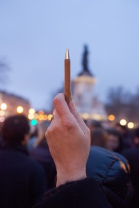 Rassemblement Charlie Hebdo