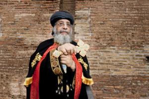 Theodore II en visite à Rome