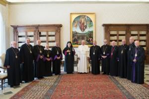 Le pape François reçoit le Synode patriarcal de l'Eglise arménienne catholique
