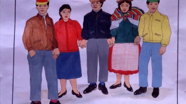 hommes et femmes de Bolivie