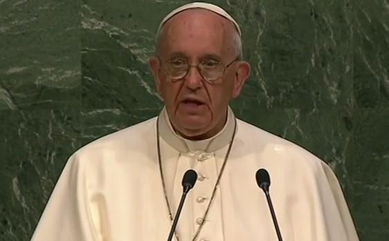 Pape François à l'ONU