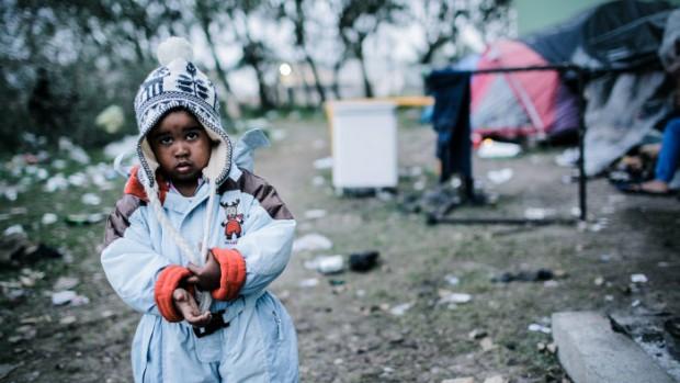 enfant migrant à Calais
