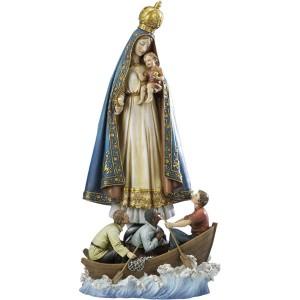 statue de la Virgen del cobre