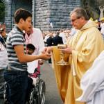 Mgr Brunin au pèlerinage du Rosaire