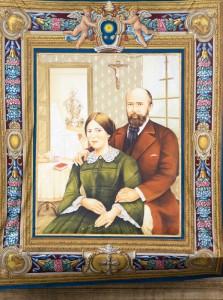 Portrait de sainte Zélie et saint Louis Martin