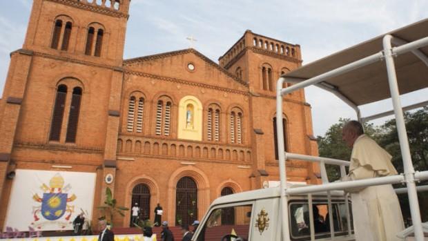 2015. Voyage apostolique du pape François en Afrique. Centrafrique