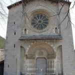Porte Sainte de l'église Notre Dame du Bourg, diocèse de Digne