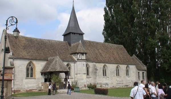 Église de la trinite à Pinterville, Porte Sainte du diocèse d'Evreux