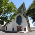 POrte Sainte de l'église Jésus Miséricordieux, diocèse de La Réunion