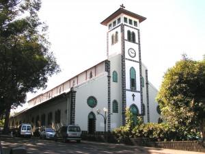 Porte Sainte de l'église Saint François de Sales, diocèse de La Réunion