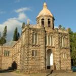 Porte Sainte de l'église du Sacré Coeur, diocèse de La Réunion
