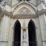 Porte Sainte de la Cathedrale Sainte Croix, diocèse d'Orléans