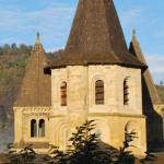 Porte Sainte de l'Abbatiale de Conques, diocèse de Rodez