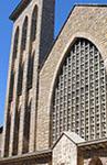 Porte Sainte de l'église de la Sainte Famille, diocèse de Rodez