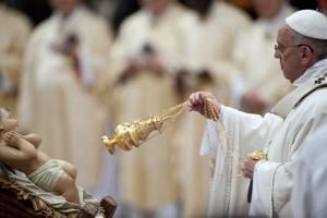 Messe de Noël à Rome