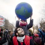 Manifestation justice climatique COP 21