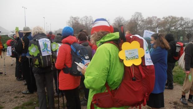 Pèlerins climatiques pour la COP21