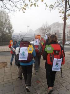 Pèlerins climatiques COP21 hauteur