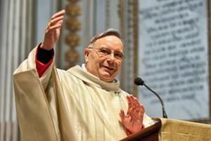 Card. Francesco  MONTENEGRO prend possession de son titre cardinalice