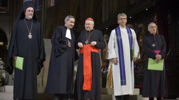 unité des chrétiens célébration oecuménique pour la création  COP21