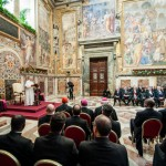 Voeux du Pape François au Corps diplomatique