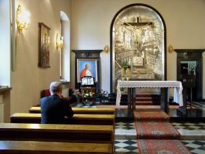 chapelle de l'archeveché de Cracovie