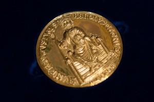 Méadille du prix Charlemagne.