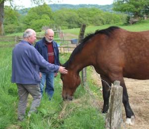 2016_ClaudeetPaul_avec_cheval