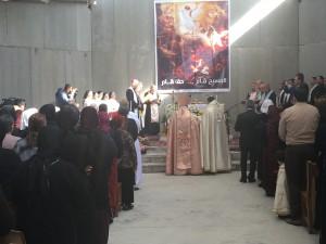 célébration église de Mar Shmony et Ste Anne