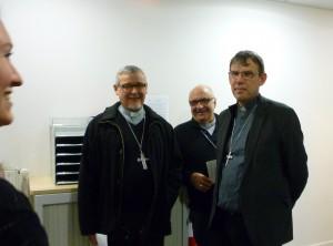 Mgr Colomb, Mgr Gosselin et Mgr Blanchet