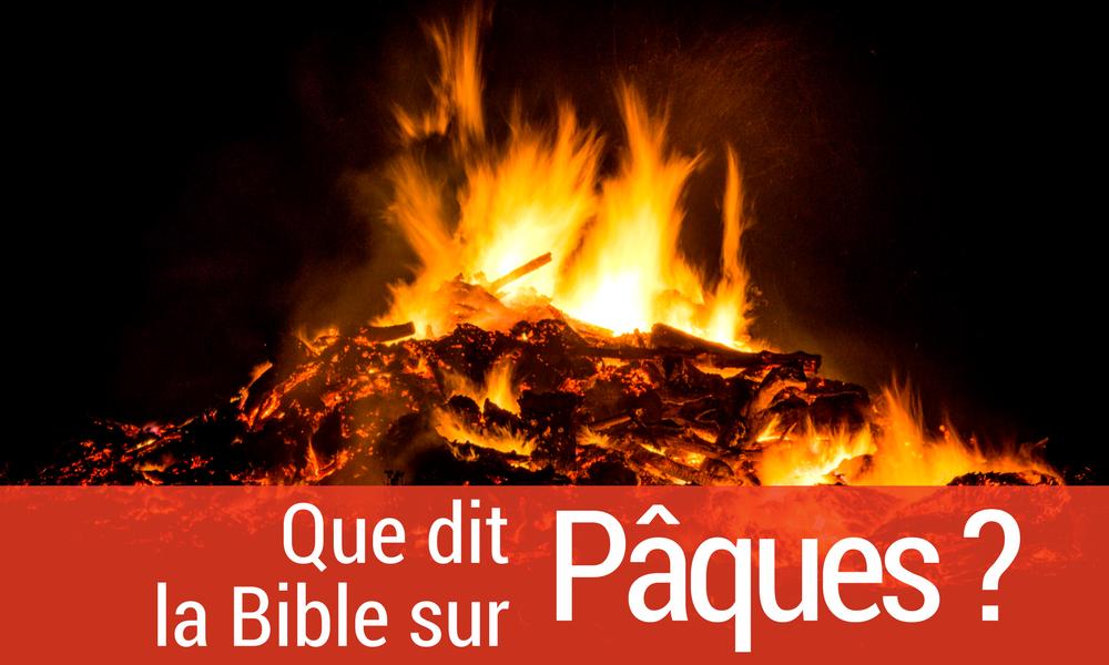 bible sur pâques