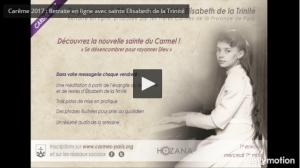 Carmes de Paris - Retraite en ligne pour le Careme