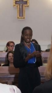 La Rwandaise Mireille Twayigira est aujourd'hui médecin au Malawi.