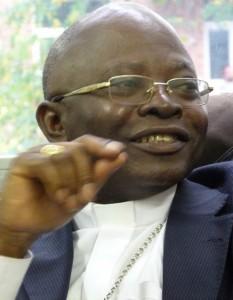 Mgr Sébastien Muyengo, évêque d'Uvira (République Démocratique du Congo).