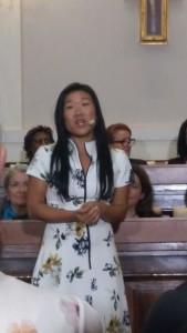 L'Australienne Stéphanie Lorenzo est engagée contre la traite des enfants et des femmes en Asie-Pacifique.
